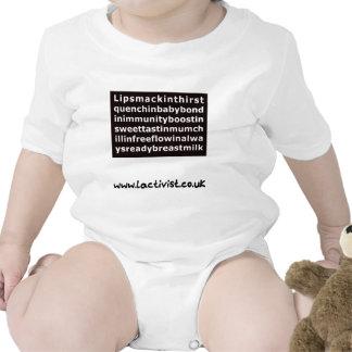 Lipsmackin… leche materna camiseta