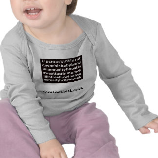Lipsmackin….leche materna camisetas