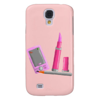 Lipstick and Phone iphone Case Galaxy S4 Cover