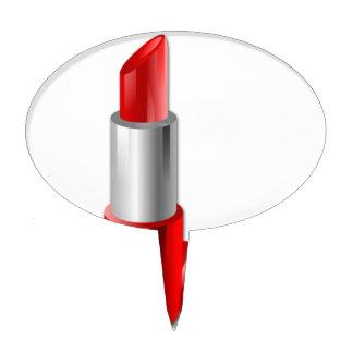 Lipstick Cake Topper
