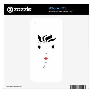 Lipstick Decal For The iPhone 4S