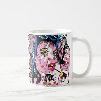 Lipstick Girl Coffee Mug