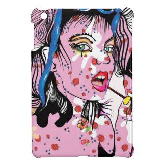 Lipstick Girl iPad Mini Cases