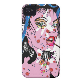 Lipstick Girl iPhone 4 Cover