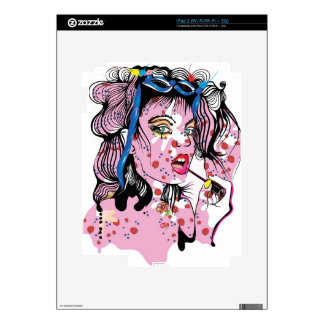 Lipstick Girl Skins For The iPad 2