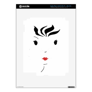 Lipstick iPad 3 Decals