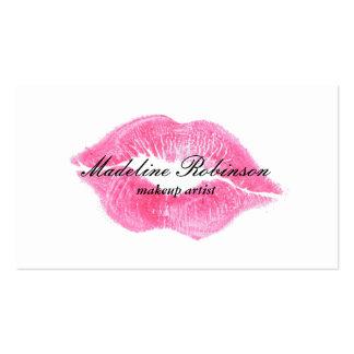 Lipstick Kiss Business Card