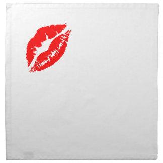 Lipstick Kiss Napkins