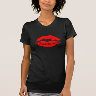 Lipstick Kiss Tee Shirt