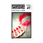 Lipstick Kisses, Love in Hearts Playing Cards Stamp