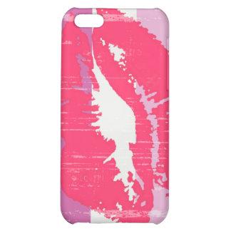 LIPSTICK LESBIAN PRIDE DISTRESSED DESIGN iPhone 5C COVER