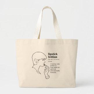 LIPSTICK LESBIAN TOTE BAG