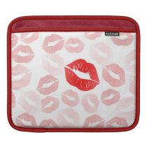 Lipstick Lips iPad Sleeve