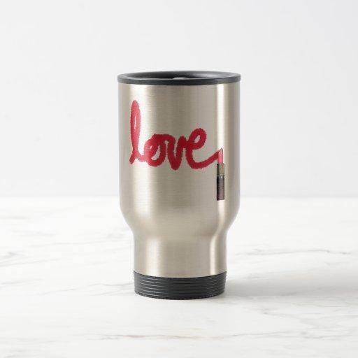 Lipstick Love Coffee Mugs