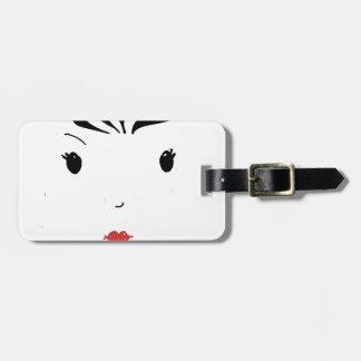 Lipstick Luggage Tag