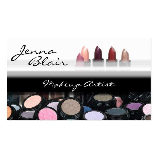 Lipstick Makeup Artist Business Card