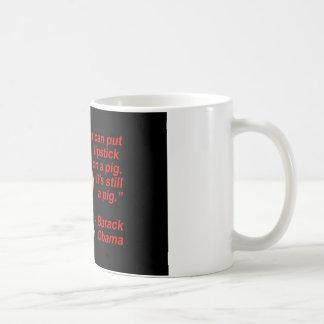 Lipstick Obama Comment Coffee Mug