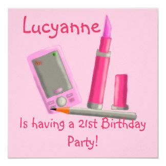 Lipstick Party Invitation
