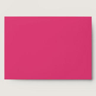 Lipstick Pink 5x7 Envelope