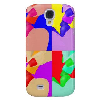 Lipstick Pop Art Samsung Galaxy S4 Case