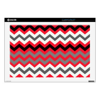 Lipstick Red,Black and White Skin For Laptop
