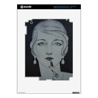 Lipstick Decals For iPad 3