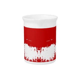 Lipstick Smudge on Tissue Drink Pitchers