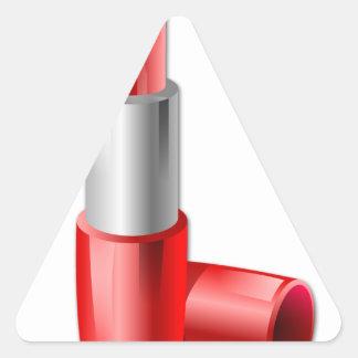 Lipstick Triangle Sticker