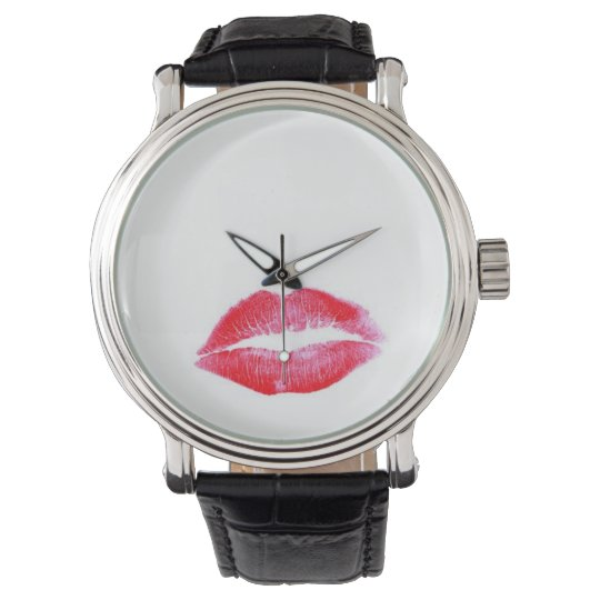Lipstick Wrist Watch