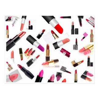 Lipsticks Postcard