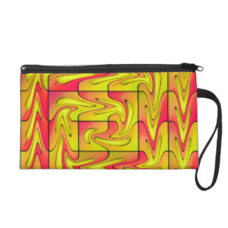 Liquefied abstract wristlet
