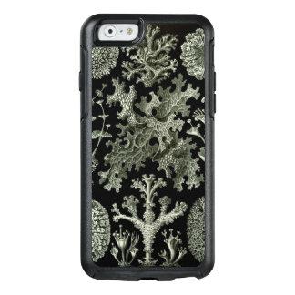 Liquen de Ernst Haeckel, plantas de la naturaleza Funda Otterbox Para iPhone 6/6s