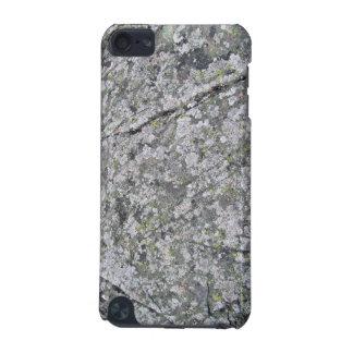 Liquenes en textura enorme de la roca