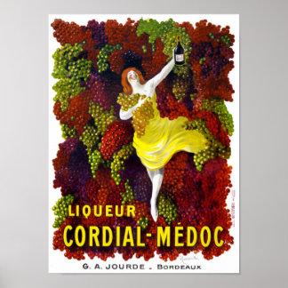 Liquer Cordial-Medoc Vintage Poster Restored