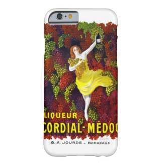 Liquer Cordial-Medoc Vintage Poster Restored Barely There iPhone 6 Case