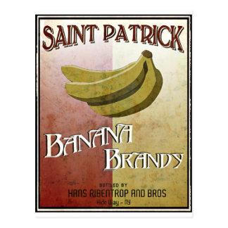 liqueur of Banana Postcard