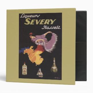 Liqueurs Severy Hasselt Promotional Poster Binder