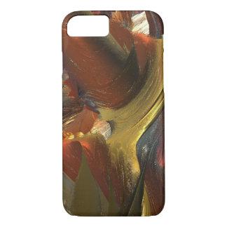 LIQUID ABSTRACT MANDELBULB 3D FRACTAL IMG iPhone 8/7 CASE