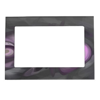 Liquid Amethyst Pastel Abstract Magnetic Frame