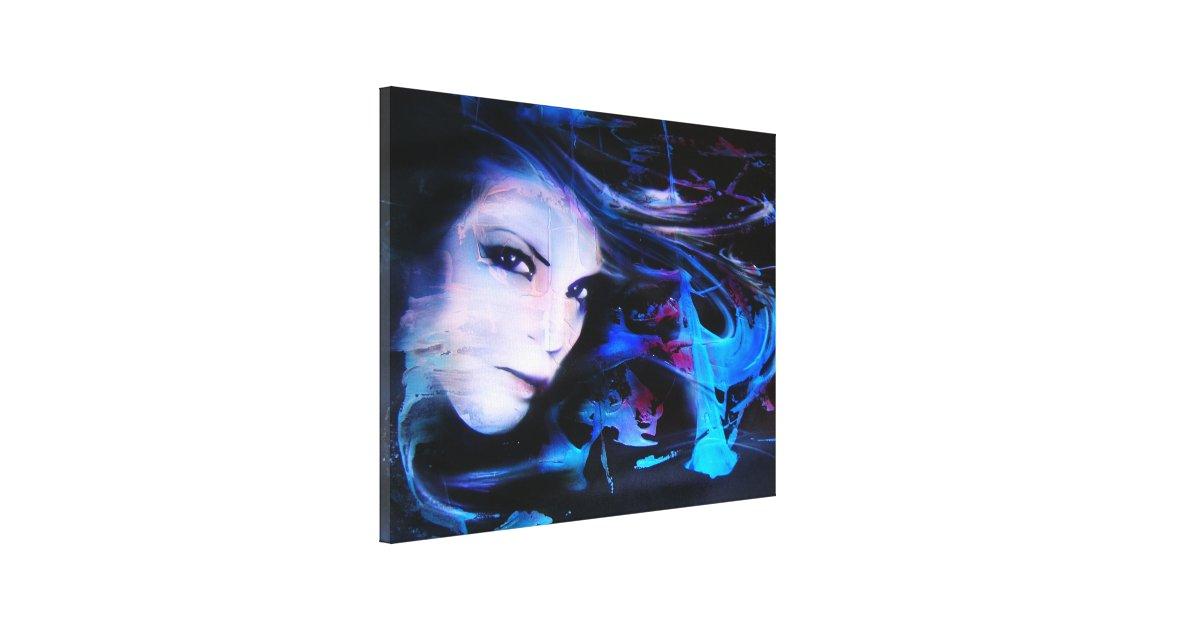 """Liquid..."" ArteKaos Wrapped Canvas Print"
