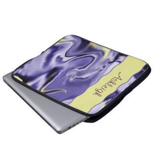 Liquid Blue  Laptop Travel Sleeve Laptop Sleeves