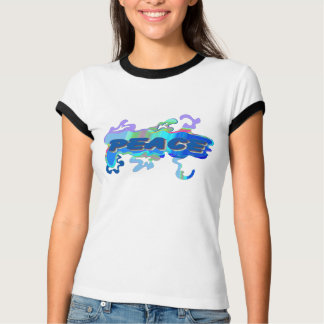 liquid blue peace T-Shirt