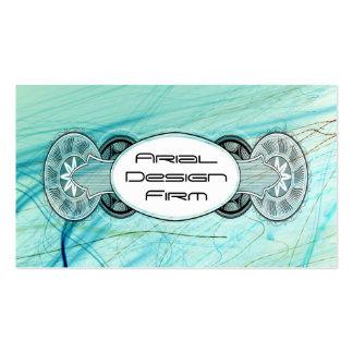 Liquid Blue Vector Business Card Templates