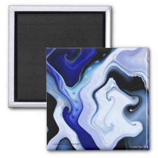 Liquid Blues Magnet