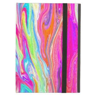 Liquid Color Neon iPad Covers