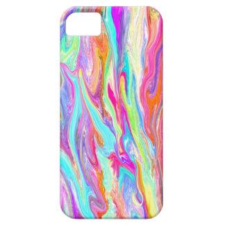 Liquid Color Neon iPhone 5 Case