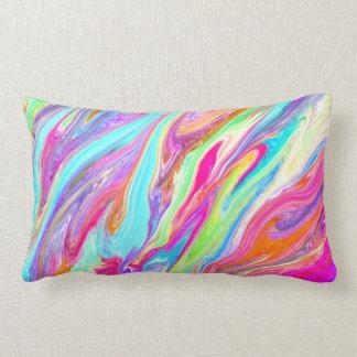 Liquid Color Neon Pillows