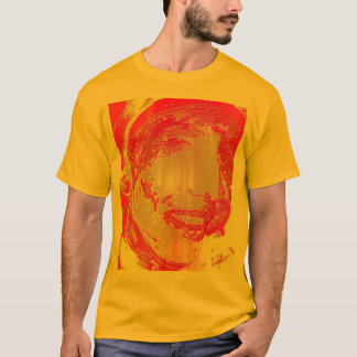 lIQUID cOLORZ AND mETALLIC sMILES T-Shirt