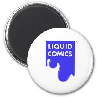 LIQUID COMICS 2 INCH ROUND MAGNET