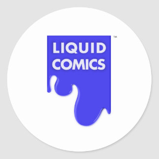 LIQUID COMICS CLASSIC ROUND STICKER